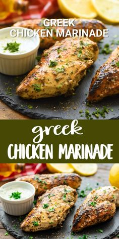 Healthy Grilled Chicken Recipes, Greek Grilled Chicken, Greek Chicken Kabobs, Grilled Chicken Tenders, Chicken Marinade Recipes, Greek Chicken Recipes, Greek Recipes, Healthy Dinner Recipes, Healthy Chicken Marinades