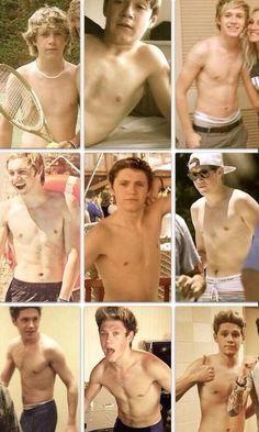 Niall Horan, the Evolution...