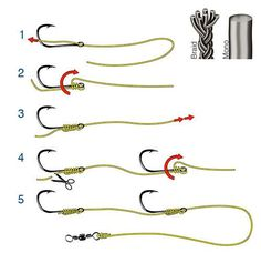 How to tie a 2 Haken-Knoten ? How to tie a 2 Haken-Knoten ? Carp Fishing Rigs, Saltwater Fishing Gear, Trout Fishing Tips, Salmon Fishing, Kayak Fishing, Ice Fishing, Fishing Line Knots, Fishing Techniques, Fishing Outfits