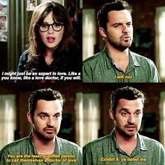 Dr of Love #NewGirl