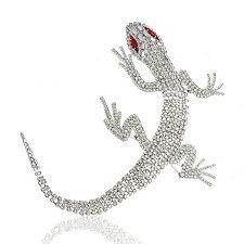 Butler and Wilson Crystal Lizard
