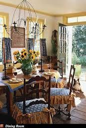 Image result for blue and yellow country french entry halls