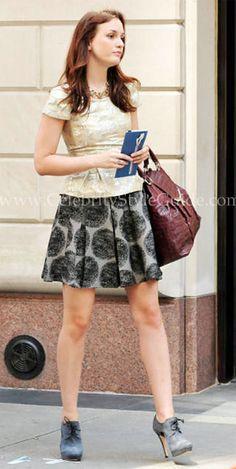 S in Fashion Avenue: Blair Waldorf style