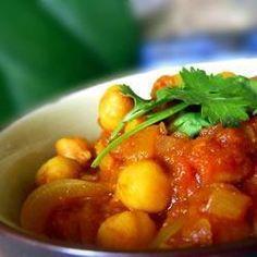 Indische Kichererbsen mit Curry (Cholay) @ de.allrecipes.com