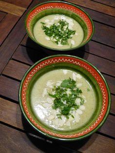 Gaspacho vert aux amandes