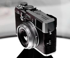 I want a new camera that I can carry everywhere - Fuji Finepix X100