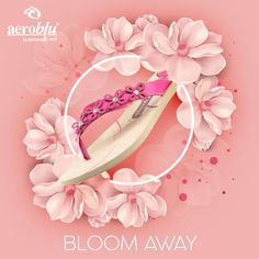 Happiness blooms from within and so will you with these beauties on you. #Aeroblu #BloomAway