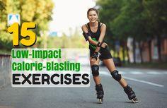Low-Impact Exercises That Burn Major Calories