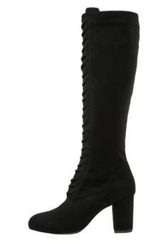 Bottes à lacets - black