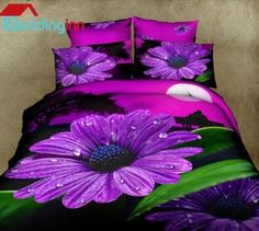 Beautiful Purple Daisy Flower Print 4 Piece Duvet Cover Sets  Buy link>>>http://urlend.com/yABnmaa Discover more>>>http://urlend.com/iUF7naB Live a better life, start with Beddinginn http://www.beddinginn.com/product/New-Arrival-Beautiful-Purple-Daisy-Flower-Print-4-Piece-Duvet-Cover-Sets-10903385.html