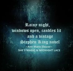 Dark Words, Rainy Night, Me Quotes, Long Live, Magic, Lace, King, Mysterious, Bliss