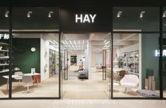 STOREHAY China 2017 Design store concept for Danish design brand HAY in China starting with three stores in Chengdu, Suzhou and. Herringbone Wooden Floors, Wooden Flooring, Hay Store, Copenhagen Apartment, Retail Concepts, 2017 Design, Retail Space, Home Studio