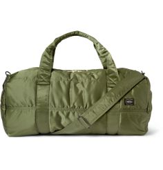 Porter Yoshida Kaban - Tanker Quilted Satin-Canvas Holdall