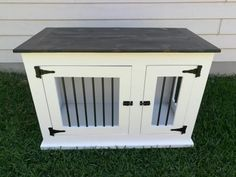 diy dog kennel table