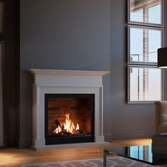Fireplace Makeover, Home And Living, Interior Design, Fireplace Suites, 1930s Living Room, Home, Gas Fires, 1930s House, Living Room Makeover