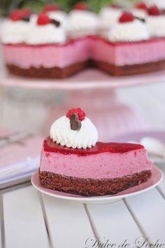 Dulce de Leche: Malinovo tvarohová torta Cheesecake, Desserts, Food, Dulce De Leche, Sweets, Tailgate Desserts, Deserts, Cheesecakes, Essen