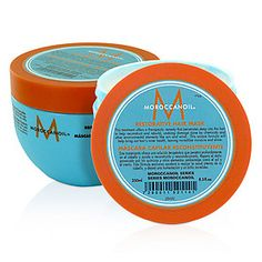Moroccan Oil Restorative Hair Mask from the Moroocanoil series is a treatment that offers a theraputic remedy that penetrates deep into the hair.