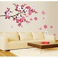 jiubai® květina strom zeď nálepka Lepicí obraz na... – USD $ 15.99