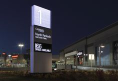 Chinook Centre Wayfinding  Signage by Cygnus Group, via Flickr