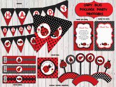 Ladybug Party PackageLadybug Birthday PartyLadybug Party