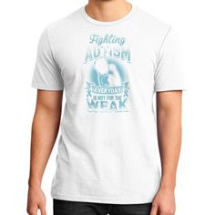 FIGHTING autism District T-Shirt (on man)