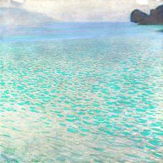 Attersee by Gustav Klimt (Austria)