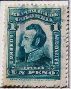 Personajes y motivos colombianos 1917 SUCRE