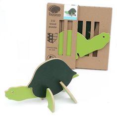 Wooden Toys - Turtle 3-D Puzzle #90514