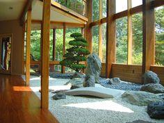 Japanese Garden. Interior landscape design By Lee's Oriental Landscape Art