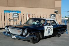 1962 Chrysler Police Car ★。☆。JpM ENTERTAINMENT ☆。★。