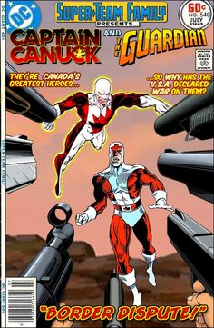 Super-Team Family: The Lost Issues!: Captain Canuck and The Guardian