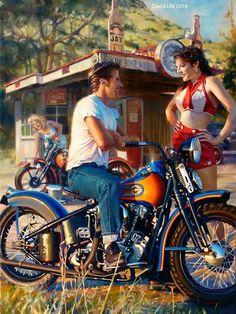Harley Davidson Art