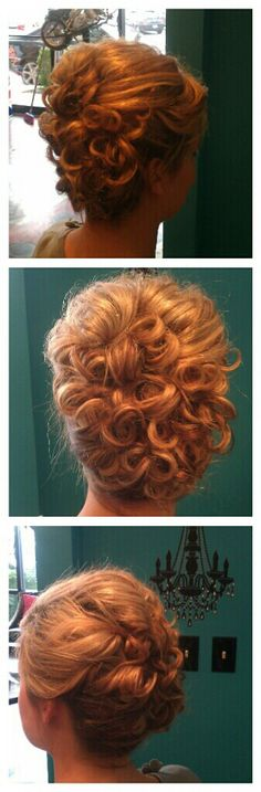 Adorable Curly Updo