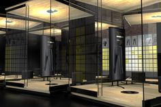 SKINS #Flagship Concept store - Fit Experience reactive pods