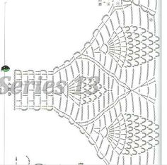 Diy Crafts - View album on Yandex. Crochet Bikini Pattern, Crochet Fabric, Crochet Cardigan Pattern, Freeform Crochet, Crochet Diagram, Tunisian Crochet, Crochet Blouse, Crochet Patterns, Diy Crafts Crochet