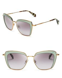 Miu Miu Frame Evolution Oversized Cat Eye Sunglasses | Bloomingdale's