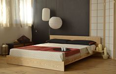 Kulu oriental bed base from Natural Bed Company.
