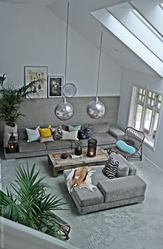 Our living room - right now Unser Wohnzimmer - jetzt
