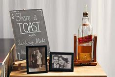 wedding toast to honor lost loved ones wedding | 25 Unique Ways To Honor Deceased Loved Ones At Your Wedding via InkedWeddings.com