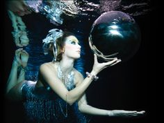 Underwater choreography is an actual field of business for film. I have so many dream jobs. (like this pic from Aquabatix)