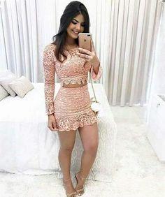 Conjunto 1327 mobelli - mobelli store in 2019 Skirt Outfits, Sexy Outfits, Sexy Dresses, Cute Dresses, Dress Skirt, Short Dresses, Cute Outfits, Bodycon Dress, Fashion Outfits