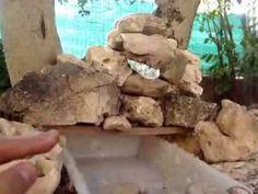 CASCADA PARA BELEN O JARDIN COMO HACERLA - TO BETHLEHEM OR GARDEN WATERFALL - YouTube