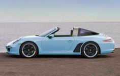 991 new Vintage looking Porsche targa
