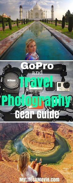 GoPro and Travel Photography Gear Guide, plus photo examples and tips!