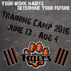 Training Camp 2016 information is now available on...