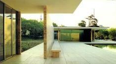 모더니즘 _ 미스 반 데 로에 건축의 진화 : 네이버 블로그 Pergola, Outdoor Structures, Outdoor Pergola, Arbors, Pergolas