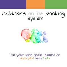 We've added year group bubbles to our hugely successful online booking system for wraparound childcare providers, in libe with the UK Government's guidance during the global pandemic. After School Club, Cob, Wraparound, Childcare, Software, Bubbles, Success, Group, Wallet