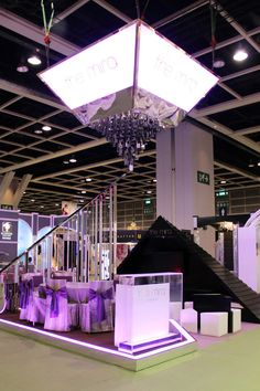 The Mira Hong Kong booth by Tableau, Hong Kong exhibit design