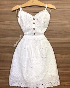 Image may contain: people standing - Salvabrani Simple Dresses, Cute Dresses, Casual Dresses, Short Dresses, Summer Dresses, Dress Skirt, Lace Dress, Dress Up, White Dress