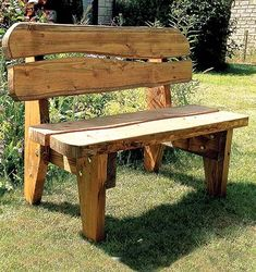Celtic Forest: Quick DIY Guidelines to Create Rustic Furniture